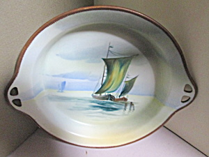 Nippon Handpainted Serving Dish