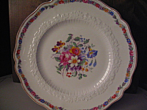 Old Staffordshire Marlow 9in. Dinner Plate