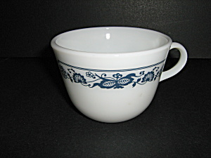 Vintage Pyrex Old Town Blue Tea Cup