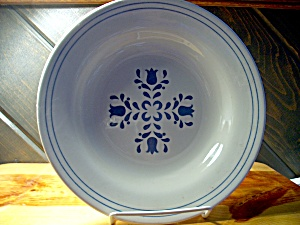 Oxford Brazil Oxf12 Blue Flower Soup Bowl