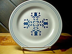 Oxford Brazil Oxf12 Blue Flower Bread Plate