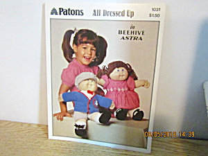 Patons All Dressed Up For Cabbage Patch Type Doll #1031