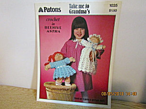 Patons Take Me To Grandma's For Cabbage Patch #1035