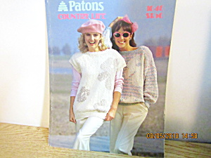 Patons Women's Sweater Country Life #1046