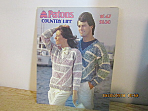 Patons Women's/men's Sweater Country Life #1047