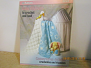 Patons Baby Afghans To Knit & Crochet #1048