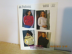 Patons Women's Variations Fashion Mohair #1074