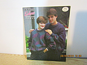 Patons Family Sweaters Echoes Shetland Tweed #1083