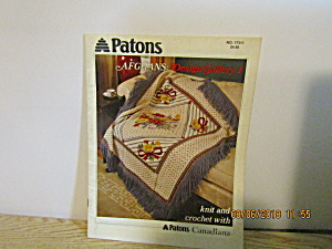 Patons Afghans Design Gallery 1 Knit & Crochet #17311