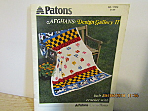 Patons Afghans Design Gallery 2 Knit & Crochet #17312