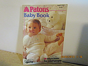 Patons Baby Book #17341