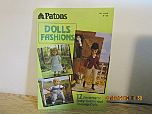 Patons Fashions For Baby,toddler & Teen Dolls #17734