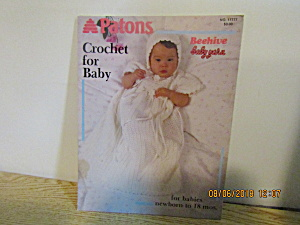 Patons Crochet For Baby Book #17777