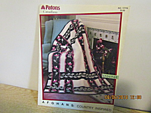 Patons Afghans Country Inspired #17778