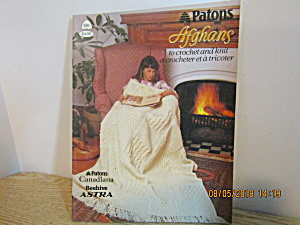 Patons Afghans To Knit & Crochet #516