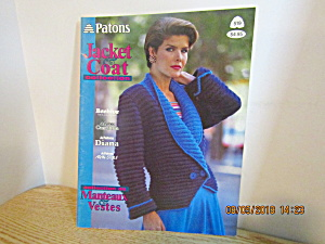 Patons Women's Jacket Coat Collection #519