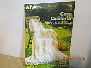 Patons Cozy Comforts Afghans To Knit & Crochet #590
