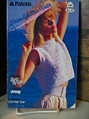 Patons Warm Weather Knits Booklet #496