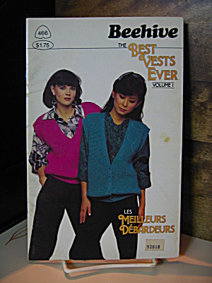 Patons Beehive The Best Vest Ever Booklet #466