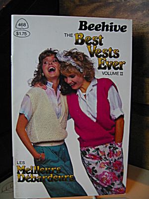 Patons & Baldwins Best Vests Ever Ii Booklet #468