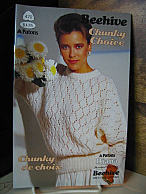 Patons Beehive Chunky Choice Booklet #472