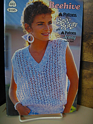 Patons Beehive Sea Or Spray Bookley #483