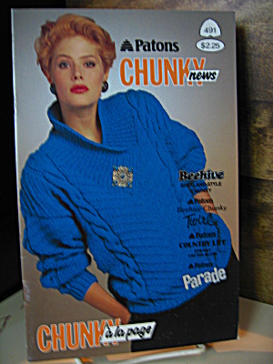 Patons Beehive Chunky News Booklet #491