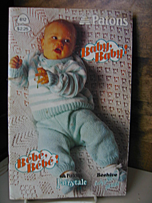 Patons Baby, Baby Booklet #612