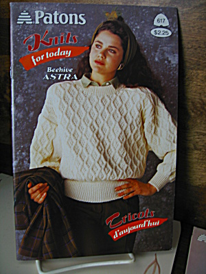 Patons Knits For Today Booklet #617