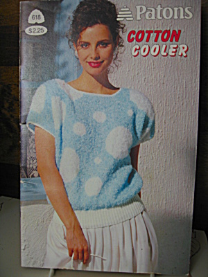 Patons Cotton Cooler Booklet #618