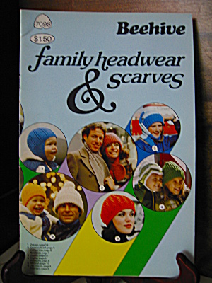 Patons Beehive Family Headwear & Scarves Booklet #7098
