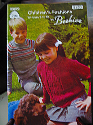 Patons Children's Fashions By Beehive Booklet #7116