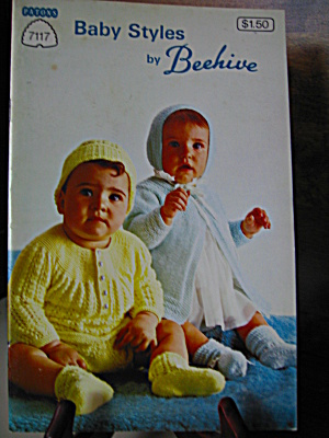 Patonsbeehive Baby Styles Booklet #7117