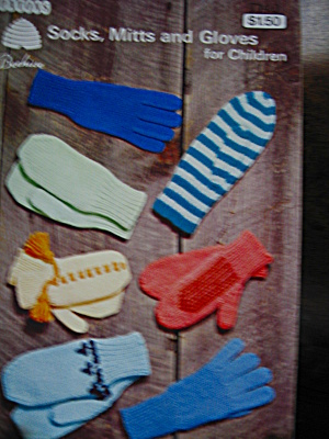 Patons Socks,mitts &gloves For Children Booklet #7140