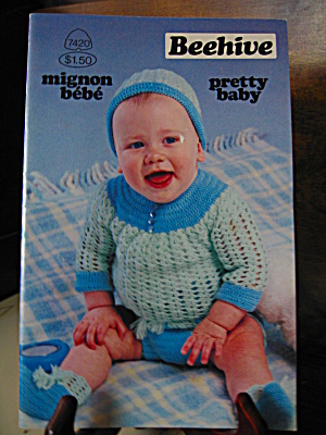 Patons Beehive Pretty Baby Booklet #7420