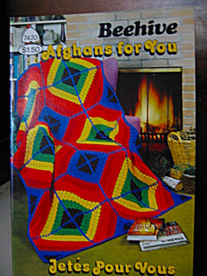 Patons Beehive Afghans For You Booklet #7433