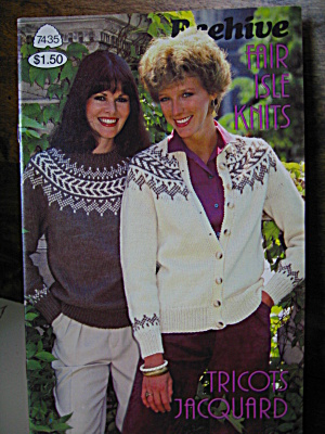Patons Beehive Fair Isle Knits Booklet #7435