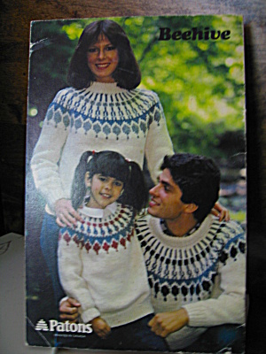 Patons Beehive Nordic Knits Booklet #7440
