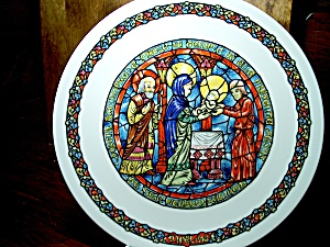 Noel Vitrail The Purification Plate