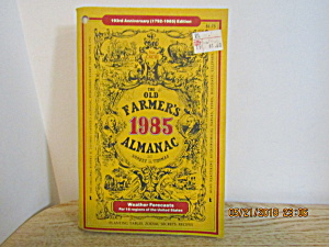 The Old Farmer's Almanac 1985