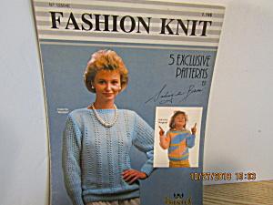 Phentex Fashion Knits Patterns By Solange Brien  #12504 (Image1)