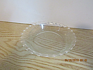 Vintage Clear Glass Pyrex 6 Inch Pie Plate