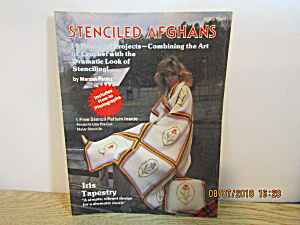Plaid Craft Book Stenciled Afghans #7800
