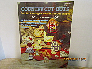 Plaid Craft Book Folk Art Country Cut-outs #8074