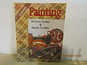 Plaid Country Painting Schoolslates & Applecrates #8167
