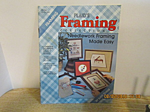 Plaid Craft Book Needlework Framing Made Easy #8184