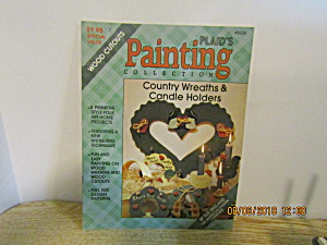 Plaid Country Painting Wreaths & Candle Holders #8254
