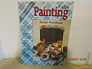 Plaid Book Country Painting Amish Primitives #8265