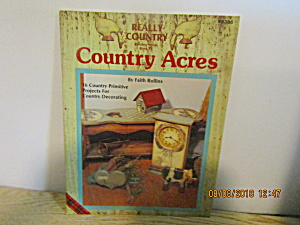 Plaid Painting Book Real Country Country Acres #8385
