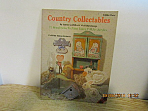 Plaid Painting Book Country Collectables #8394